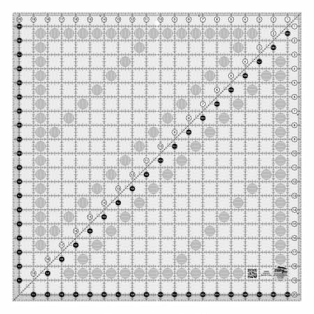 Creative Grids 20.5 inch by 20.5 inch ruler