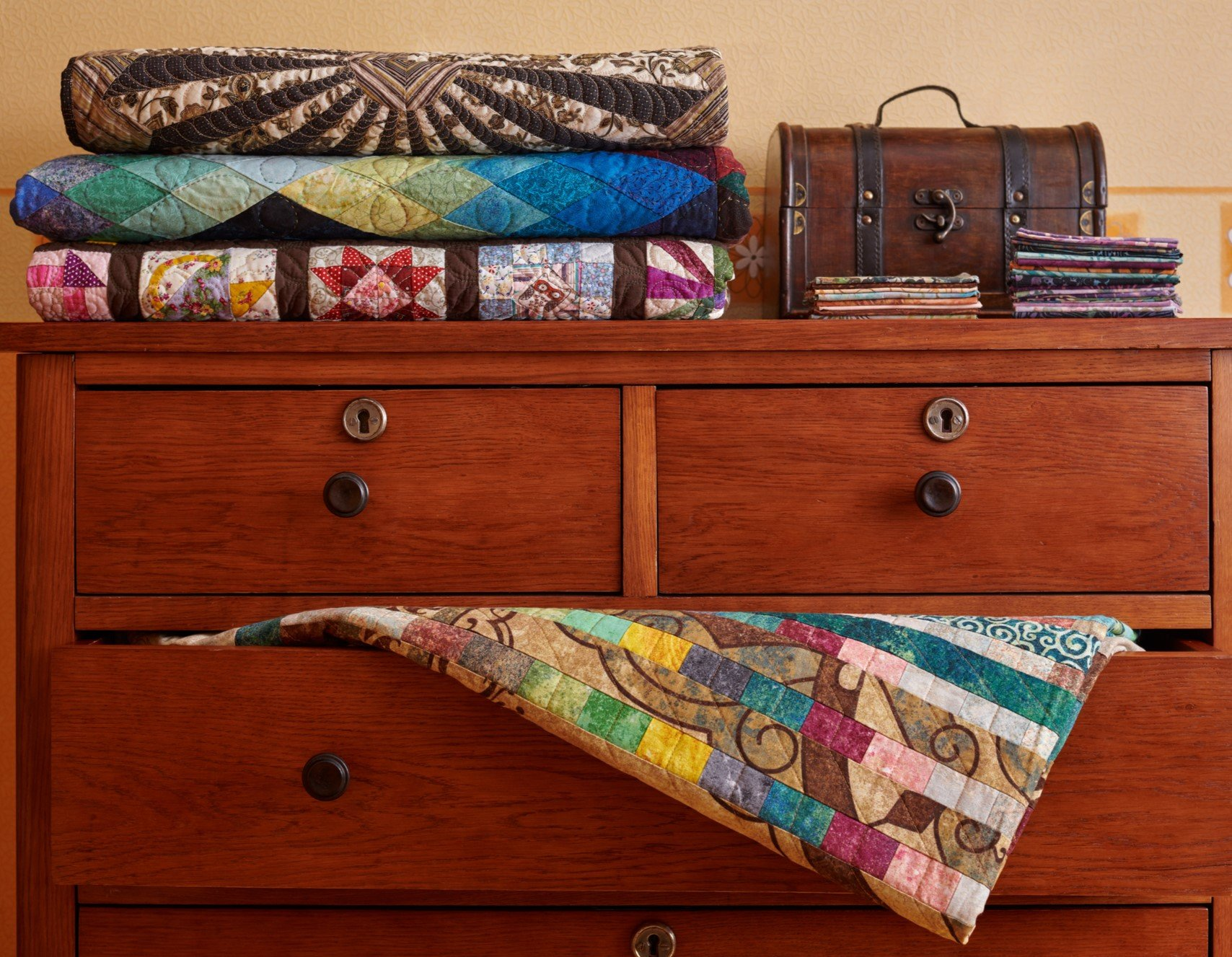 Chest of Quilts