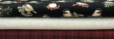 Winter Elegance Chickadee