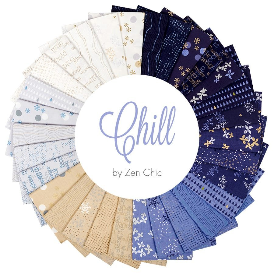 Zen Chic Chill Fabric Collection