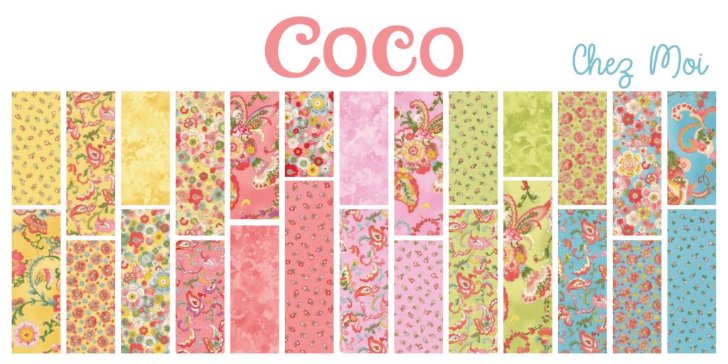 Coco by Moda Fat Quarter Bundle