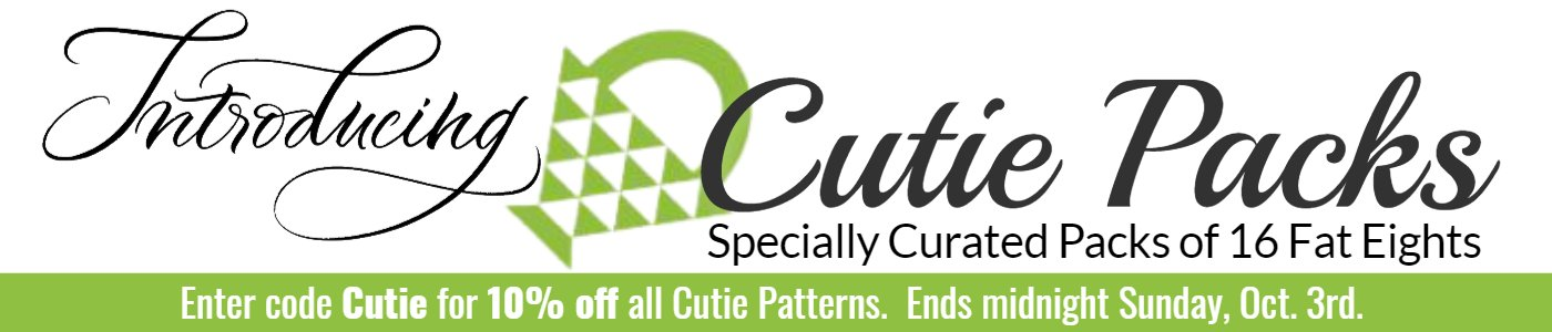 Introducing Cutie Packs specially curated packs of 16 fat eights