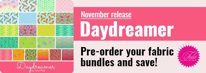 Daydreamer.  Pre-order your fabric bundle and save