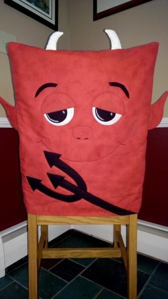 Devil Chair Cover