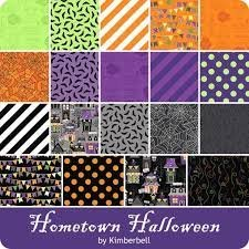 Hometown Halloween Half Yard Bundle -- 19 Pieces