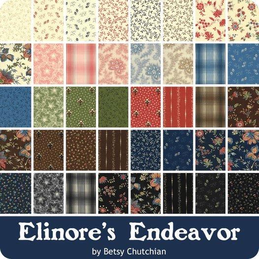 Elinore's Endeavor Fat Quarter Bundle -- 40 Pieces