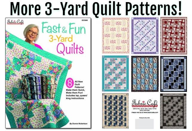 Fast & Fun 3-yard Quilt Book