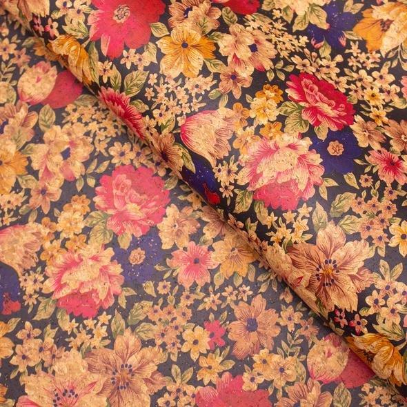 Soft Coloured Floral Cork