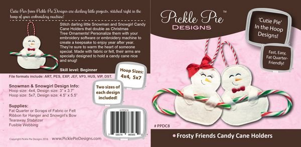 Frosty Friends Candy Cane