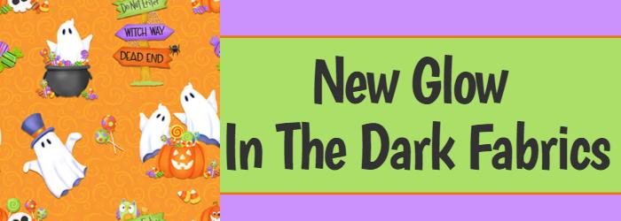 New Glow In The Dark Fabrics