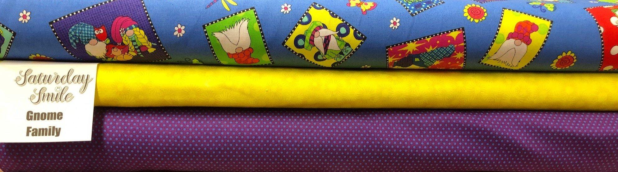 Gnome Family 3-Yard Quilt Kit