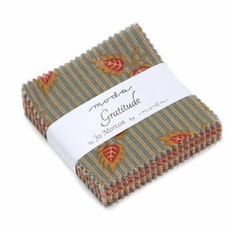Jo Morton Gratitude Charm Pack (5 squares)