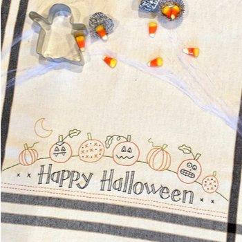 Happy Halloween Dish Towel