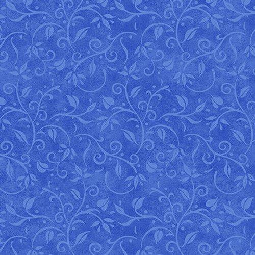 Hydrangea Songbirds Blue Vine Texture