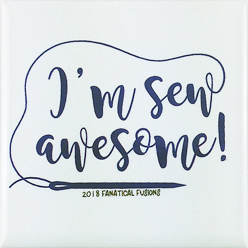 I'm sew awesome! magnet