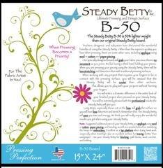The New Steady Betty B50 15 X 24 Lightweight