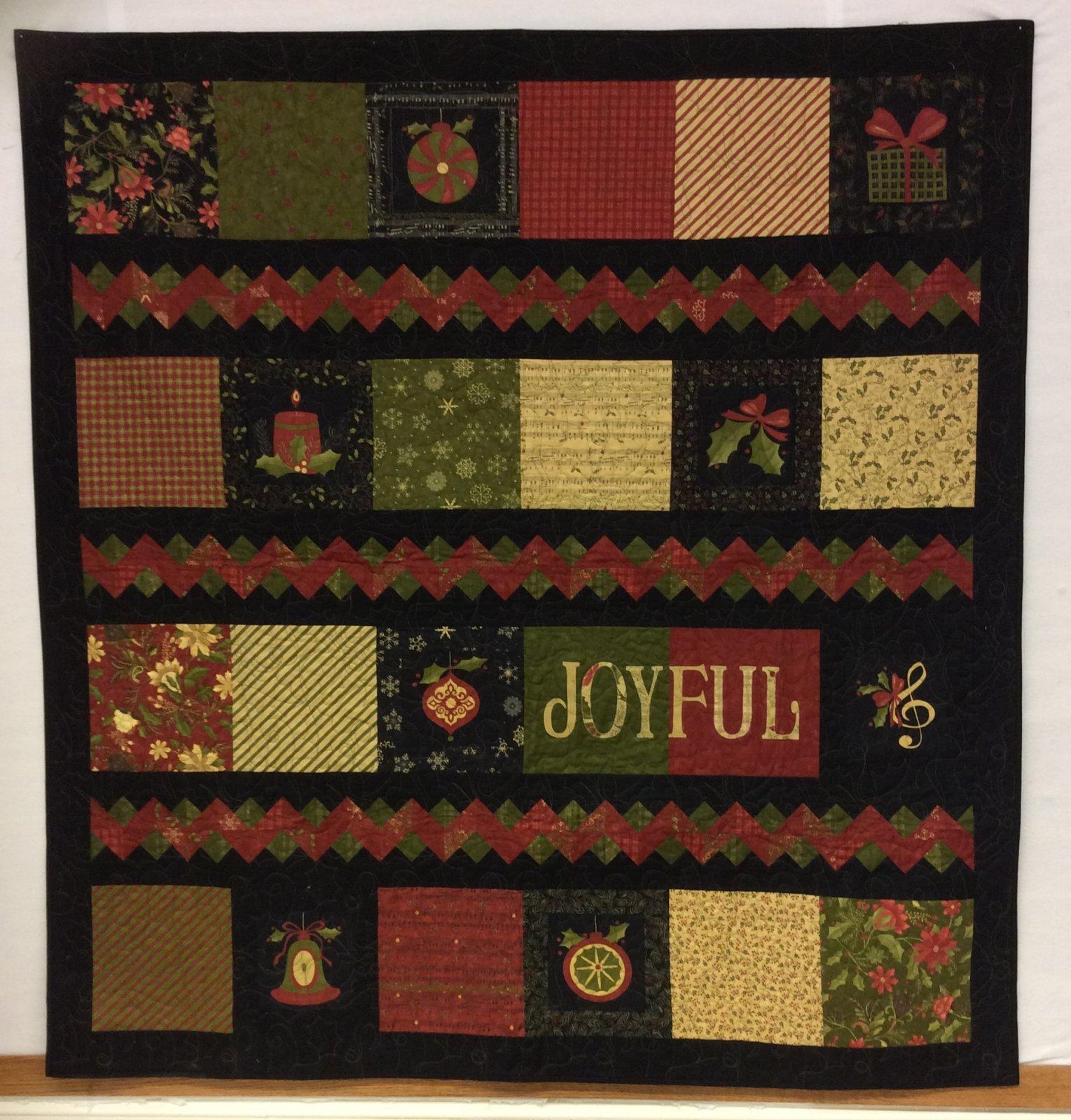 Delightful December Motif Quilt -PGK