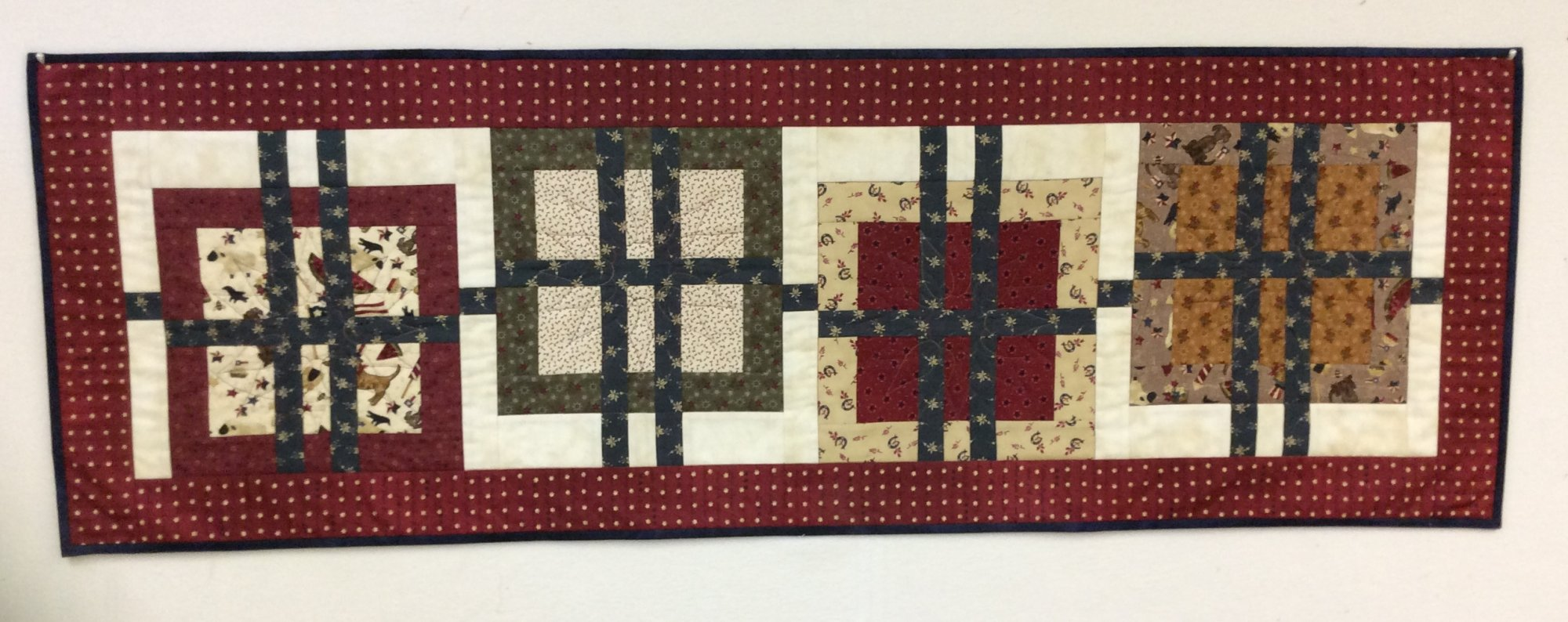 Woven Table Runner from Trendy Table 2 -- PGK
