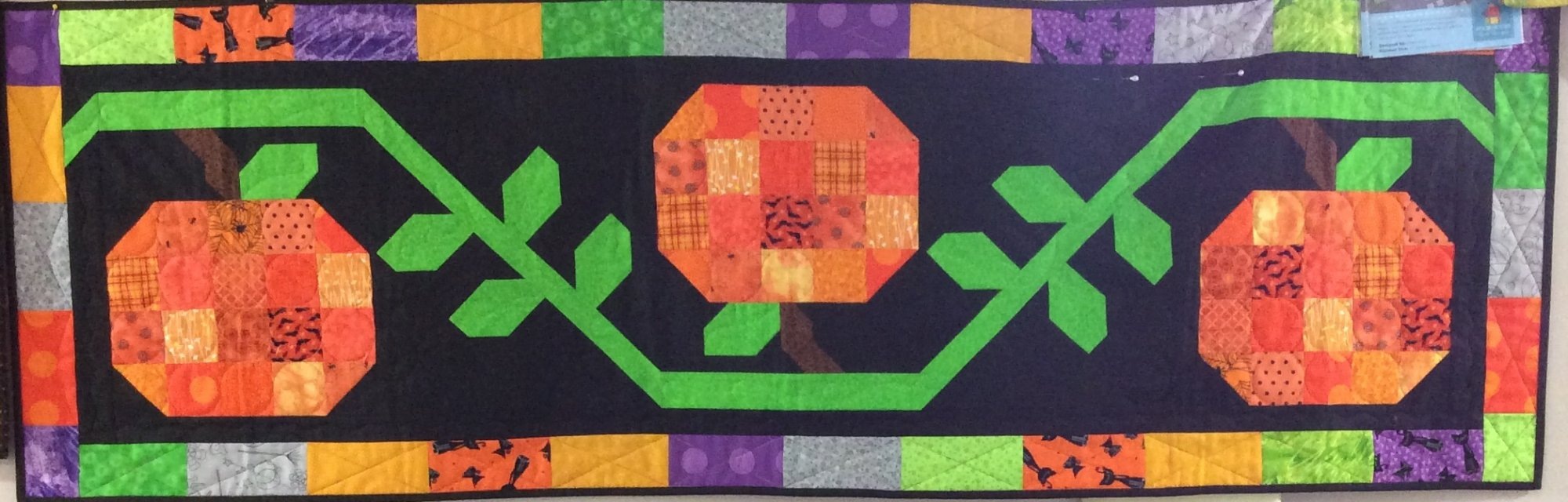 Pumpkin Patch Table Runner from Trendy Table 2