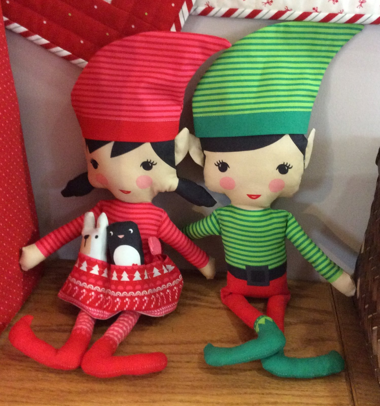 The North Pole Doll Panel