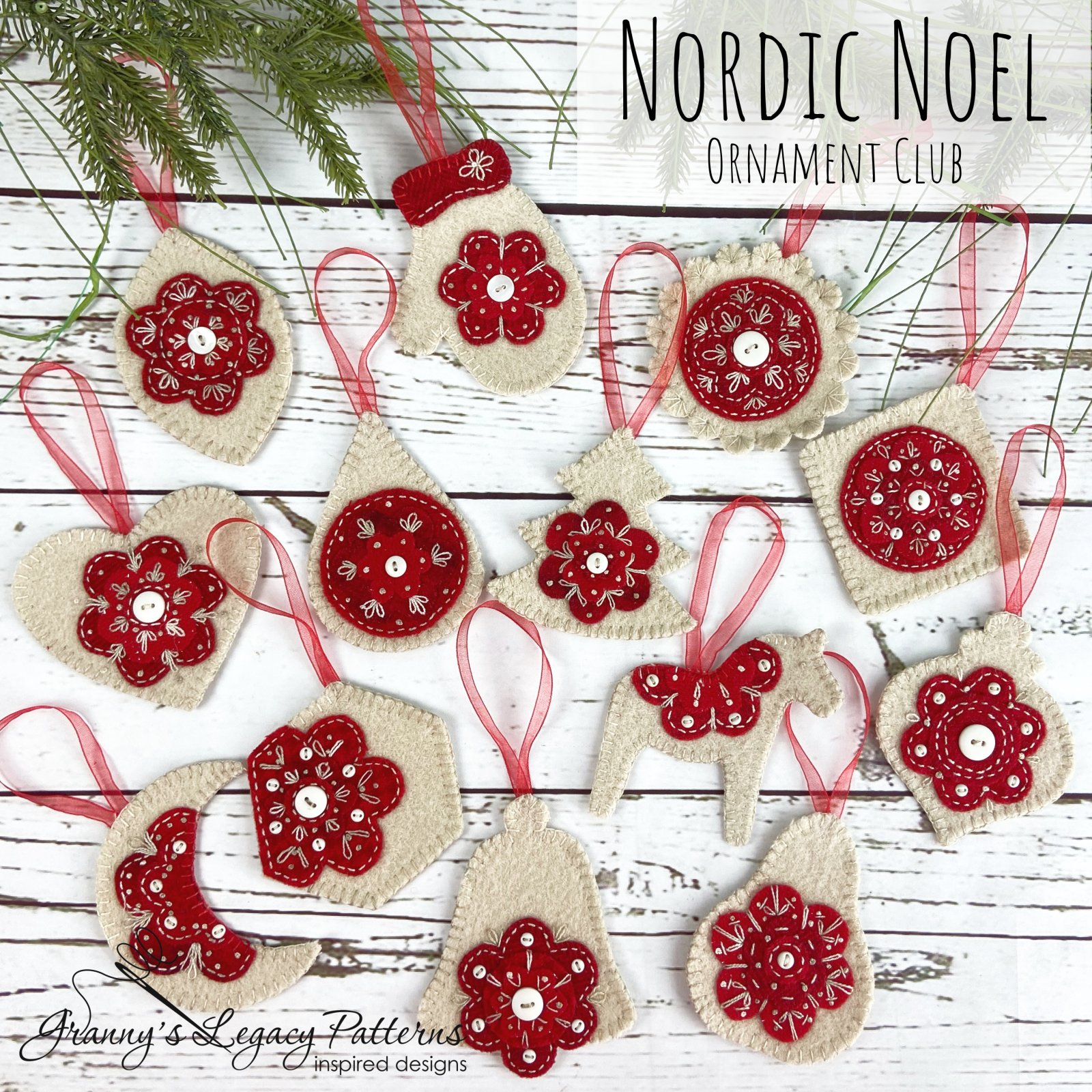 Nordic Noel Ornament Club