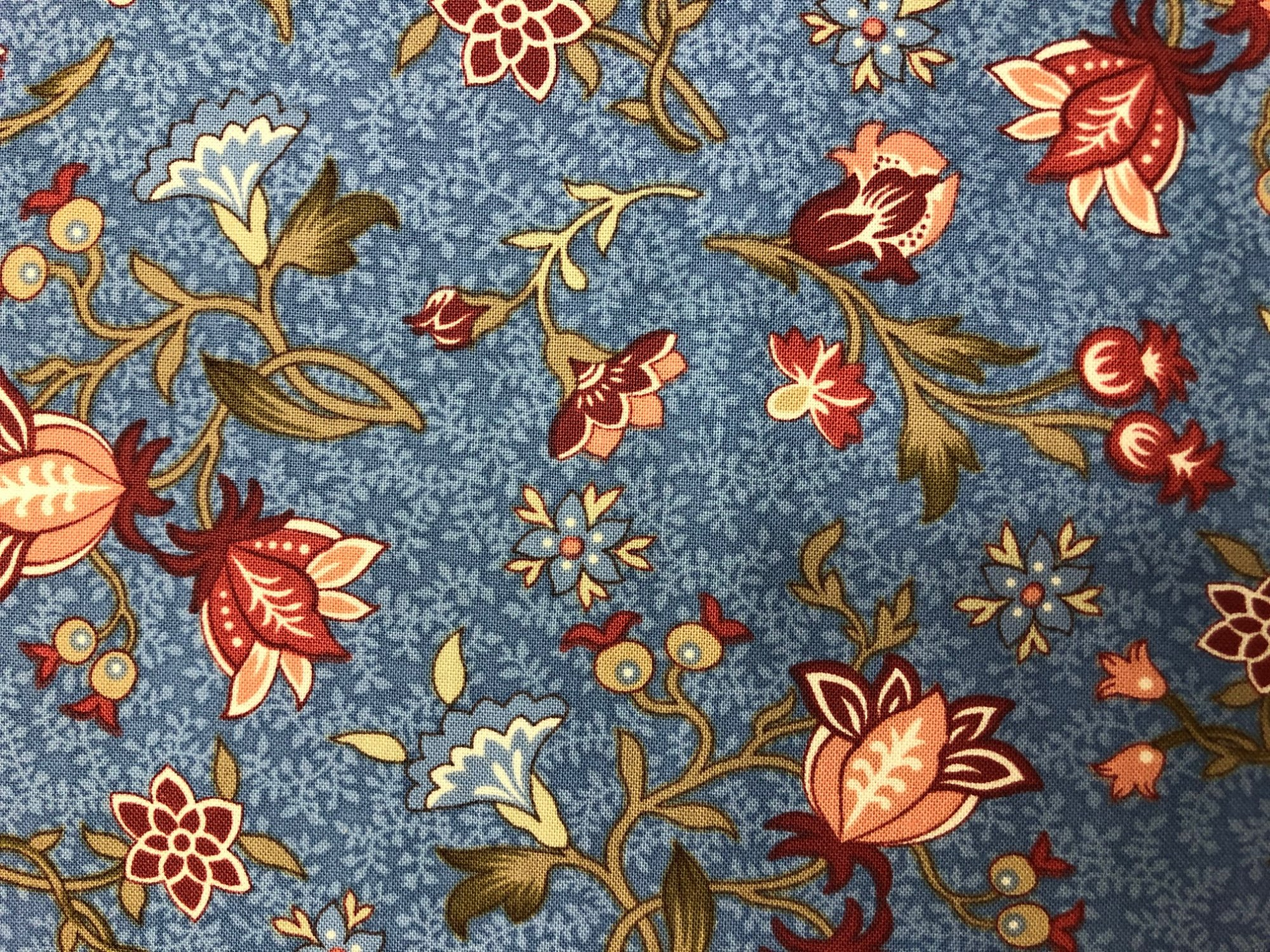 Tossed Floral 3-Yard Backing