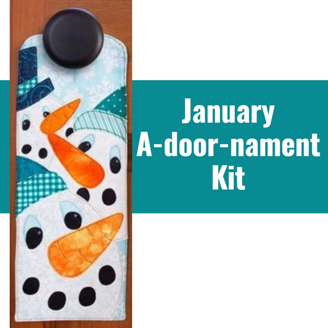 January a-door-nament Kit