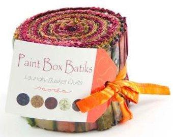 Paint Box Batiks Jelly Roll -- JRRH