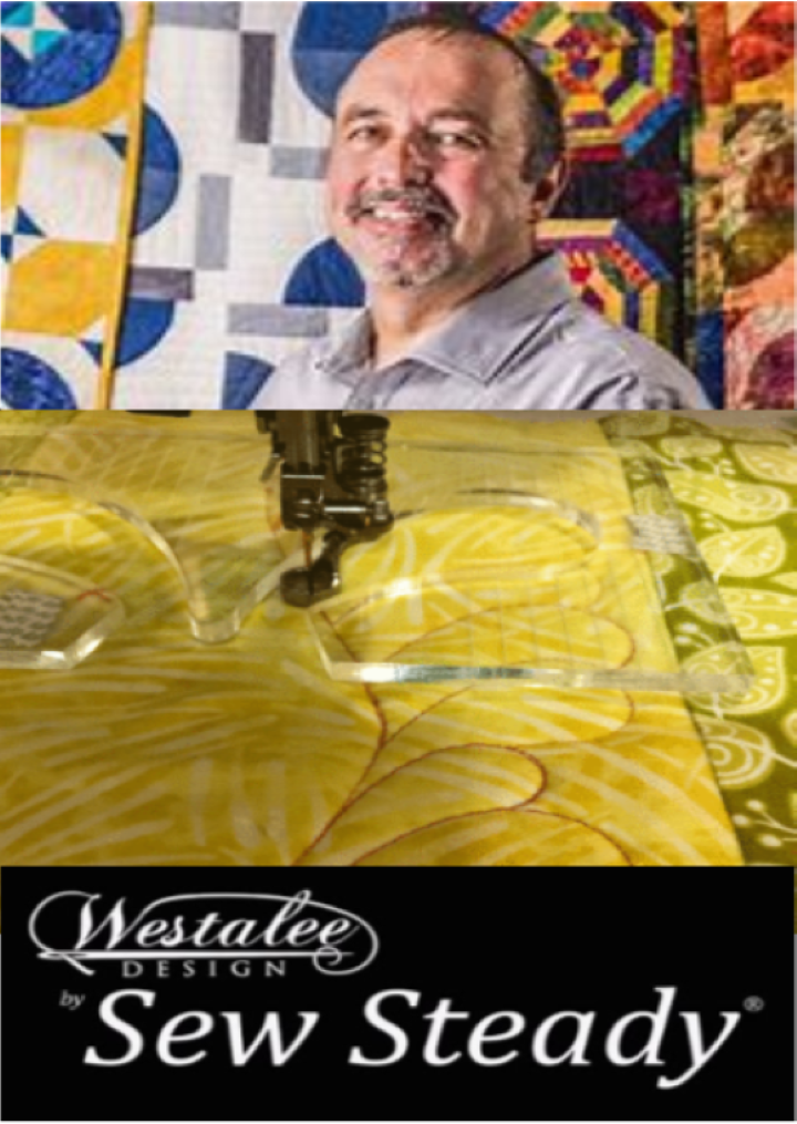 Join author and national educator John Kubiniec to learn Westalee rulers and templates can make your free motion quilting easier.