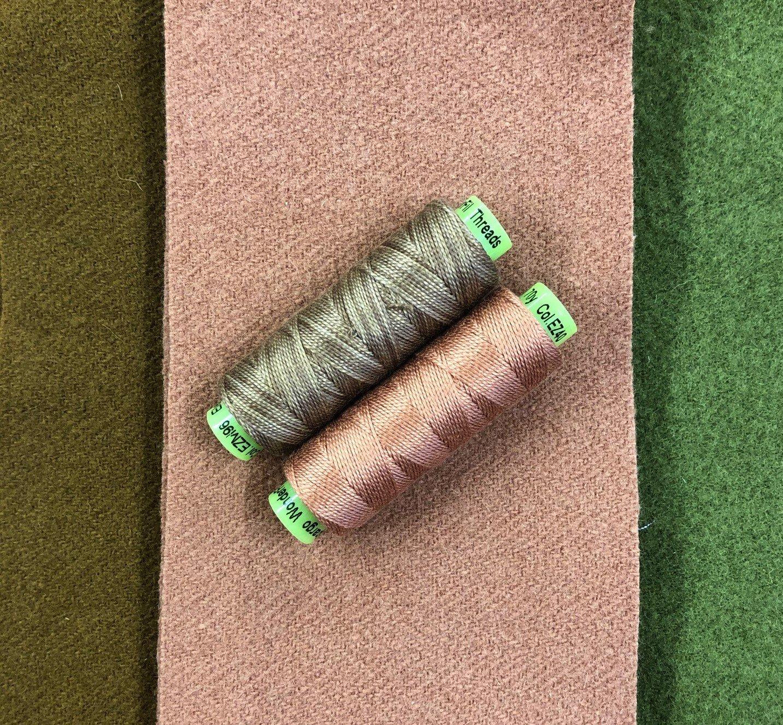 Rose Thread & Wool Bundle