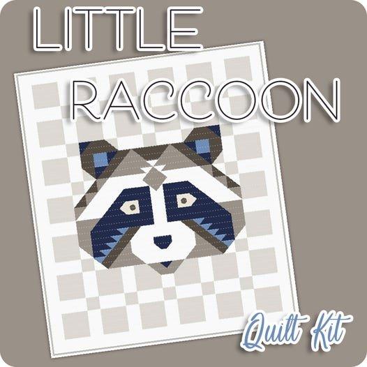 Litte Racoon QUilt Kit