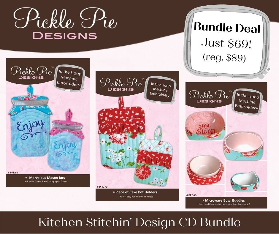 Stitchin' Kitchen Bundle