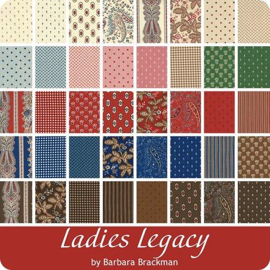 Ladies Legacy Fat Quarter Bundle - 40 Pieces