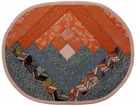 Log Cabin Placemat Pattern