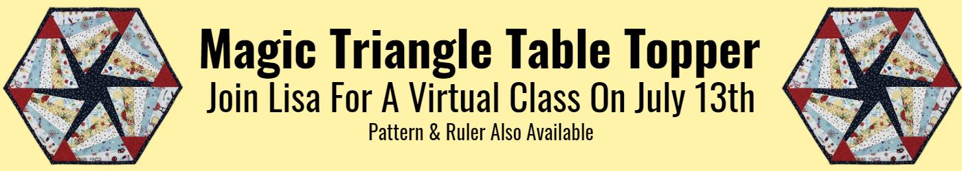 Magic Triangle Table Topper