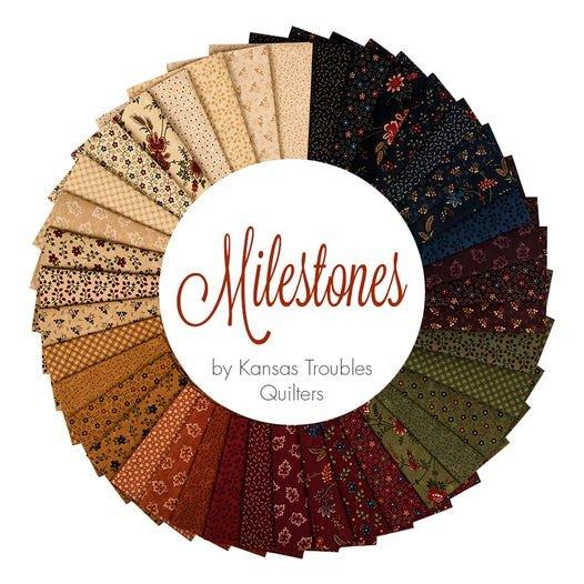 Milestones Fat Quarter Pack - 40 Fat Quarters