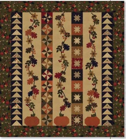 Oak Haven Lap Quilt Kansas Troubles Kut-Up Appliques