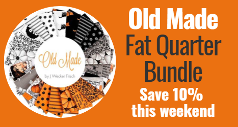 Old Made Fat Quarter Bundle Save 10% this weekend