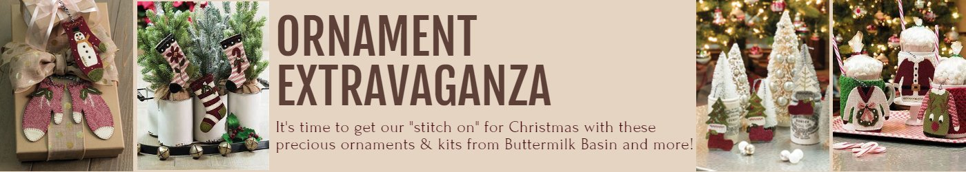 Ornament Extravaganza.  It's time to get our