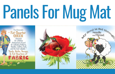 Panels for Mug Mats by Jody Houghton