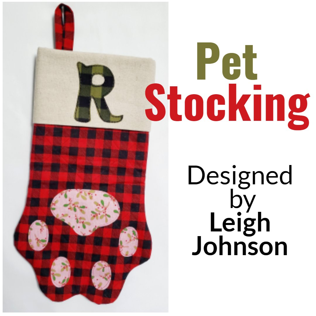 Pet Stocking Designed by Leigh Johnson