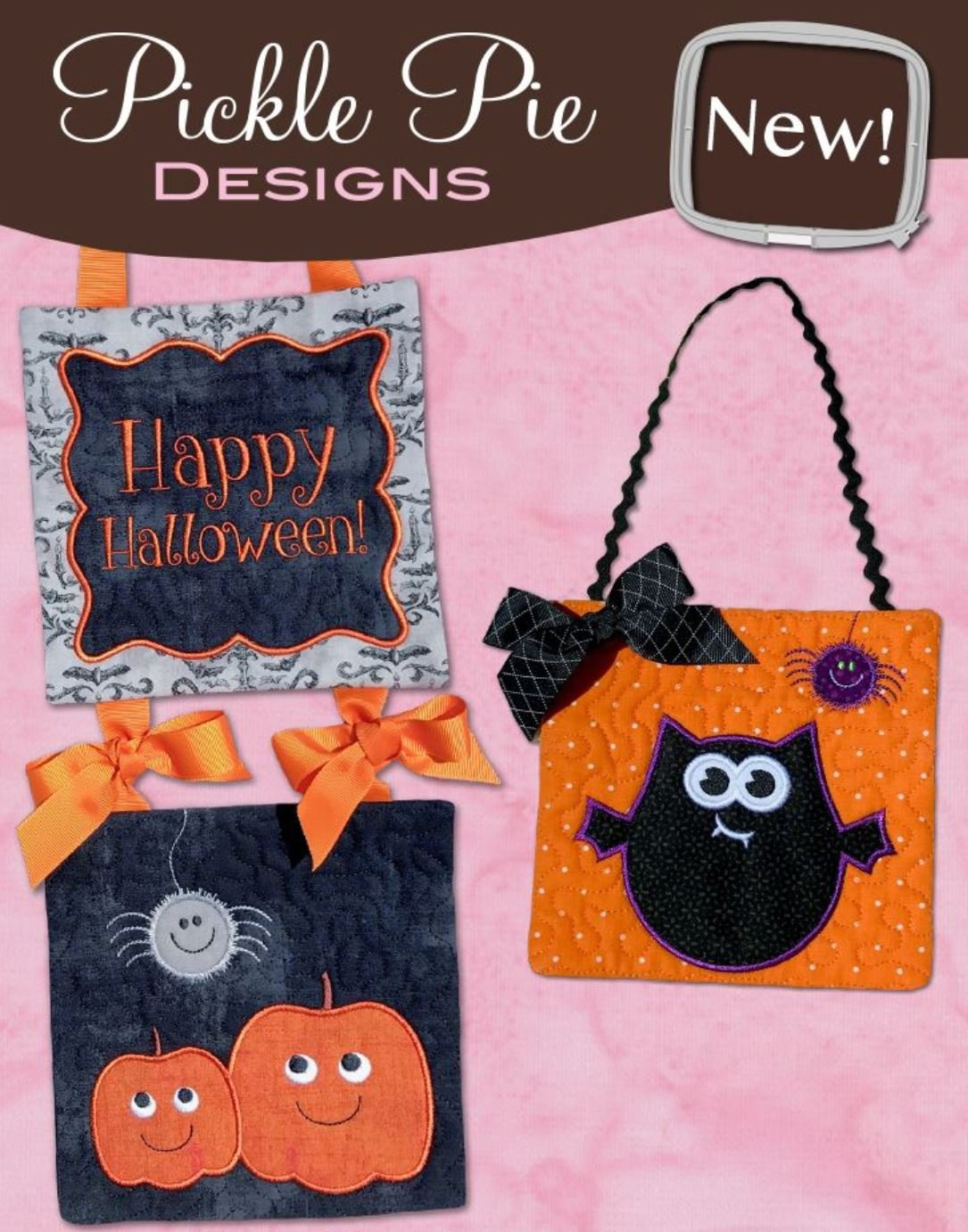 Happy Halloween Pickle Pie Designs