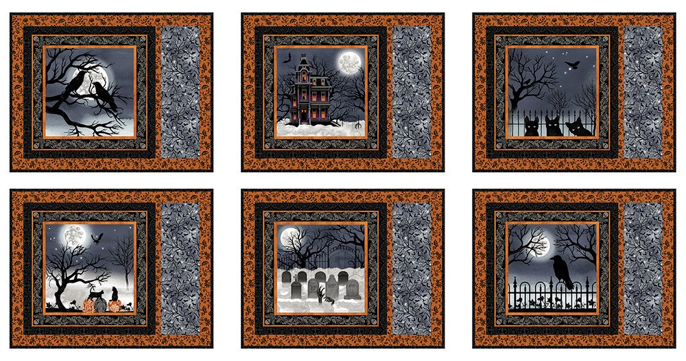 Spooky Night Placemat Kit