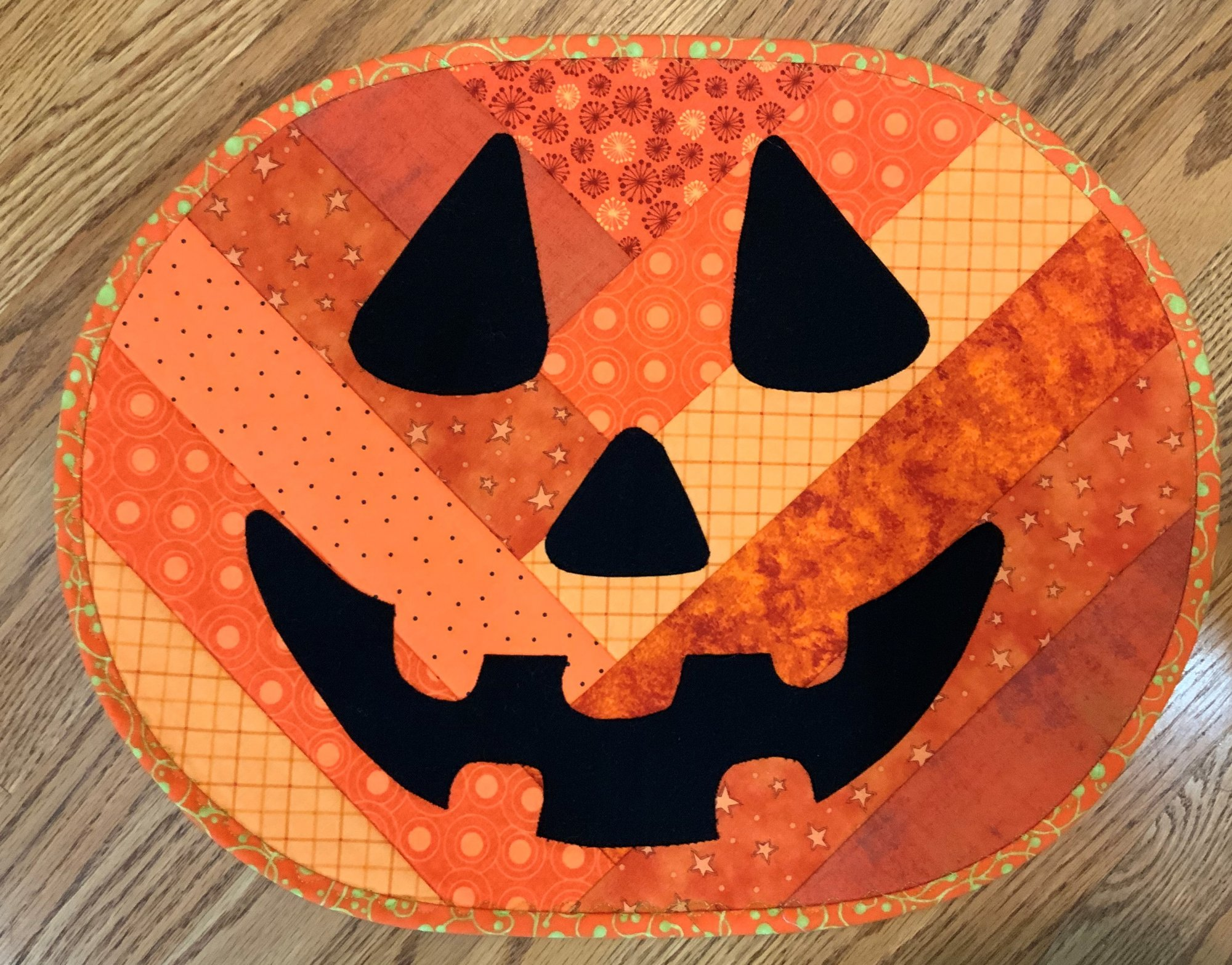 Pumpkin Placemat Kit