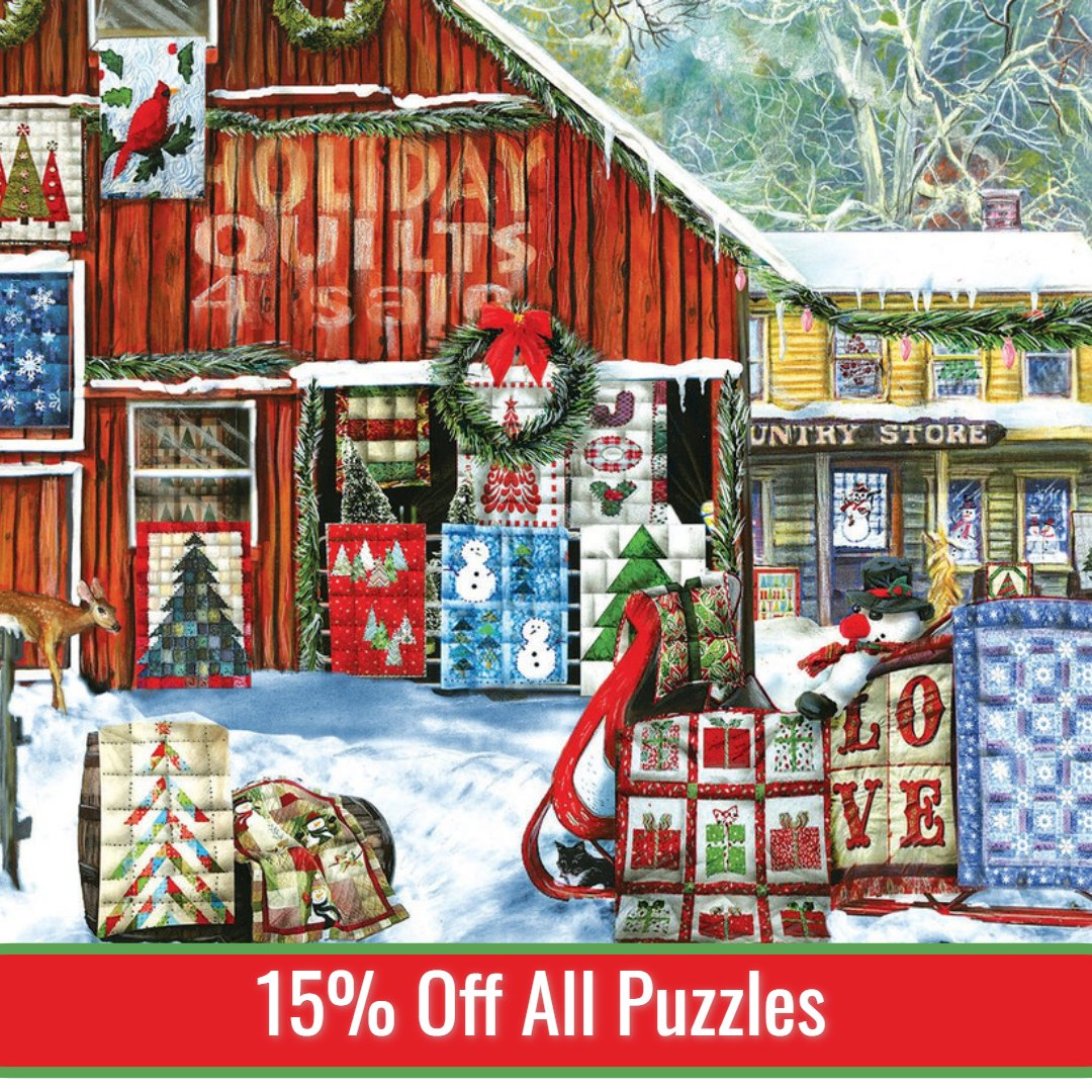 15% off Puzzles
