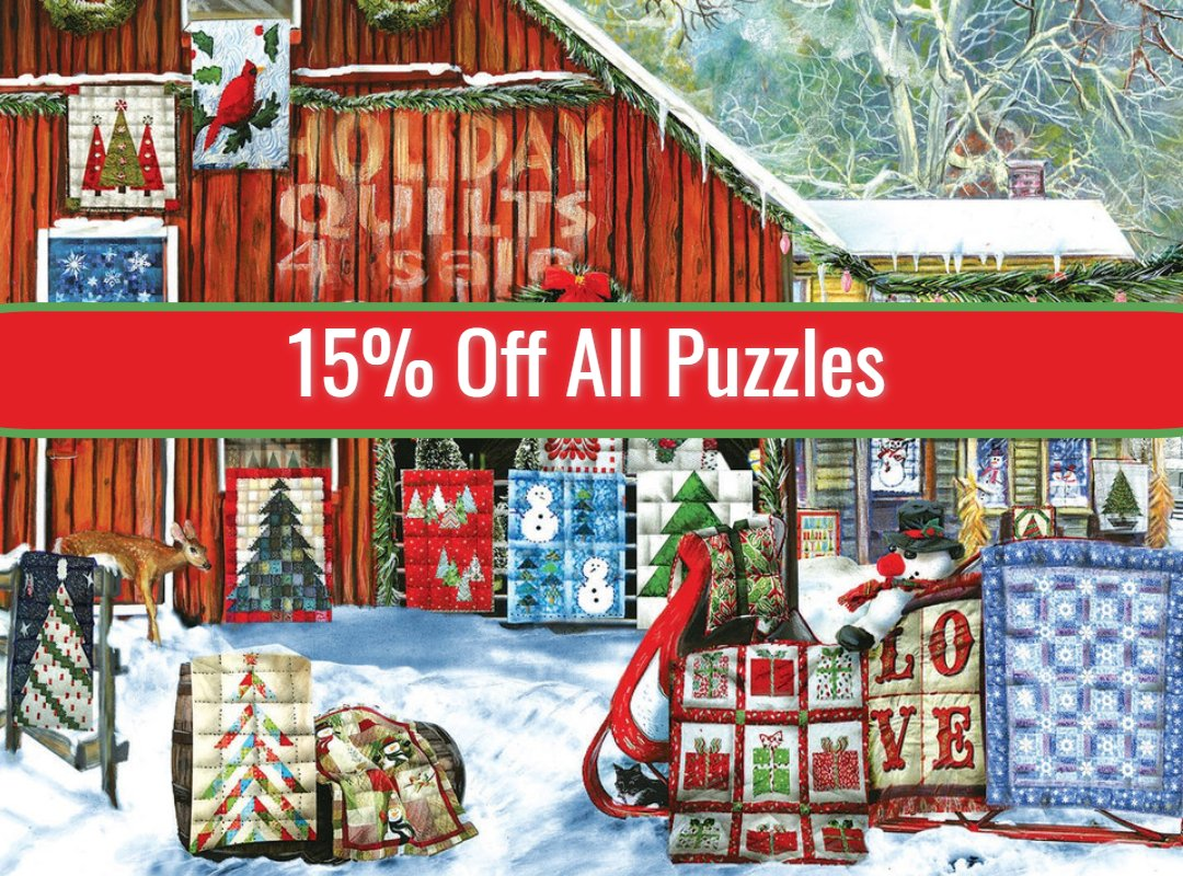 15% Off All Puzzles