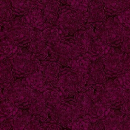Jinny Beyer's Quilters Palette - Hens & Chicks - Magenta Fabric