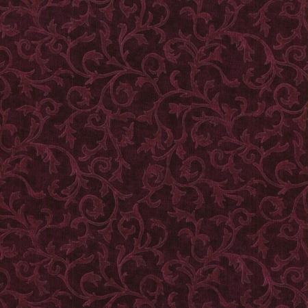 Jinny Beyer;s Quilters Palette - Scroll - Mulberry Fabric