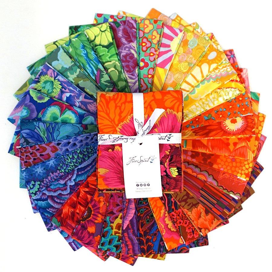 Rainbow Stash Fat Quarter Bundle -- 30 Pieces