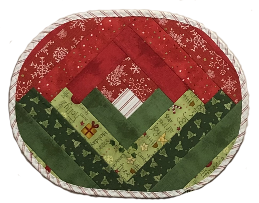 Log Cabin Placemat Complete Kit